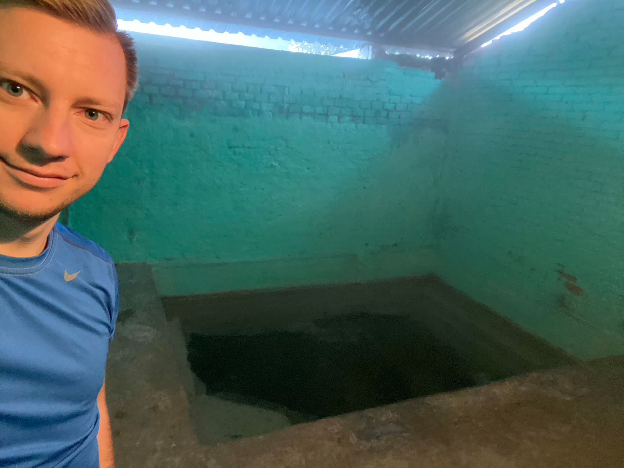Public Bath Room In Mexico